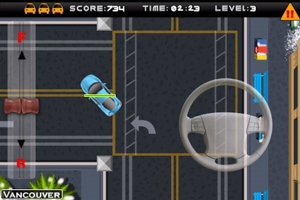 Screenshot iPark It 2: Park The World Review